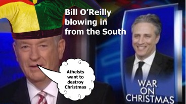Bill O'Reilly the idiot windbag talking crap as usual